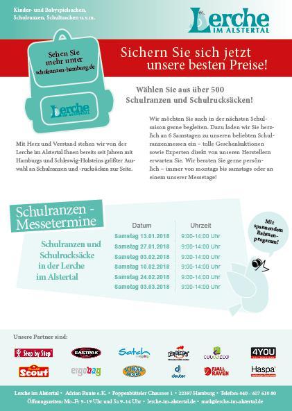 Schulranzenmesse Poppenbüttel